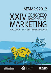 XXIV Congreso Nacional de Marketing. AEMARK 2012