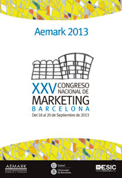 XXV Congreso Nacional de Marketing. Aemark 2013
