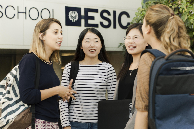 Alumnos de ESIC