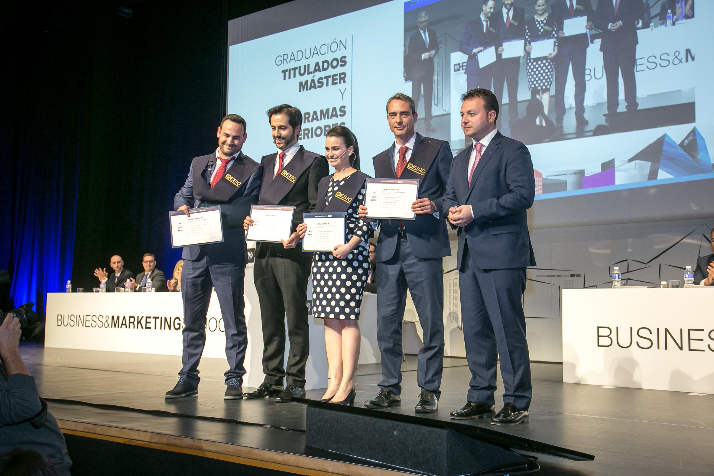 Premio al mejor proyecto del EMBA XXV