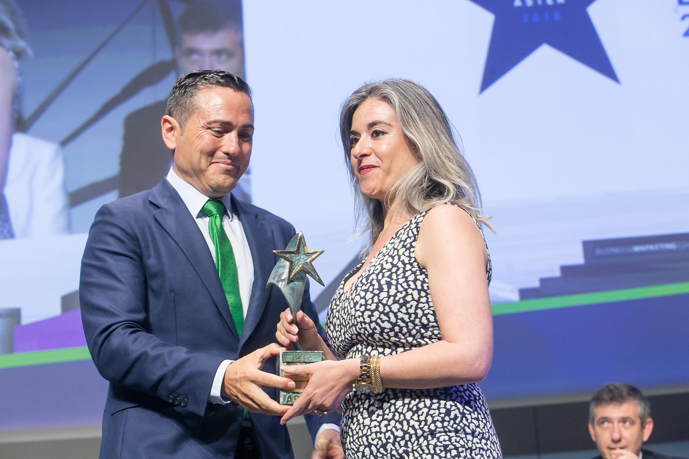 María Pocoví, Premio ASTER Mejor Emprendedor