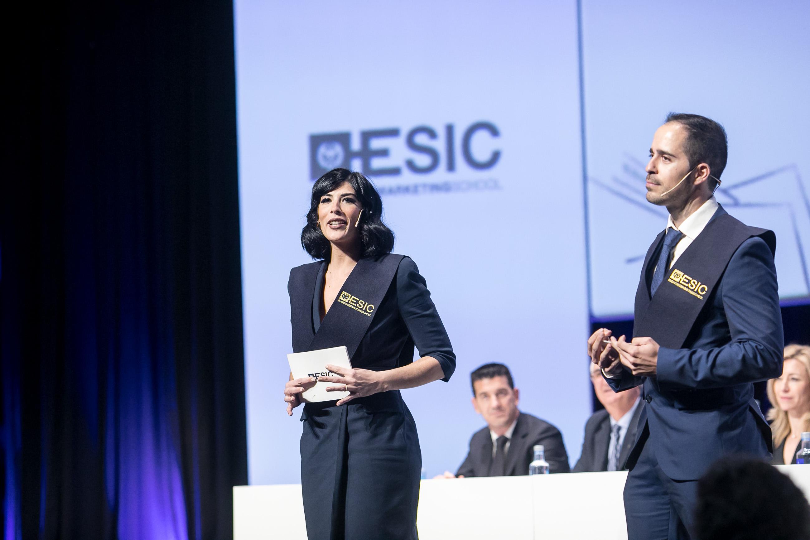 Sara Atienza y Pablo González, representantes de los alumnos