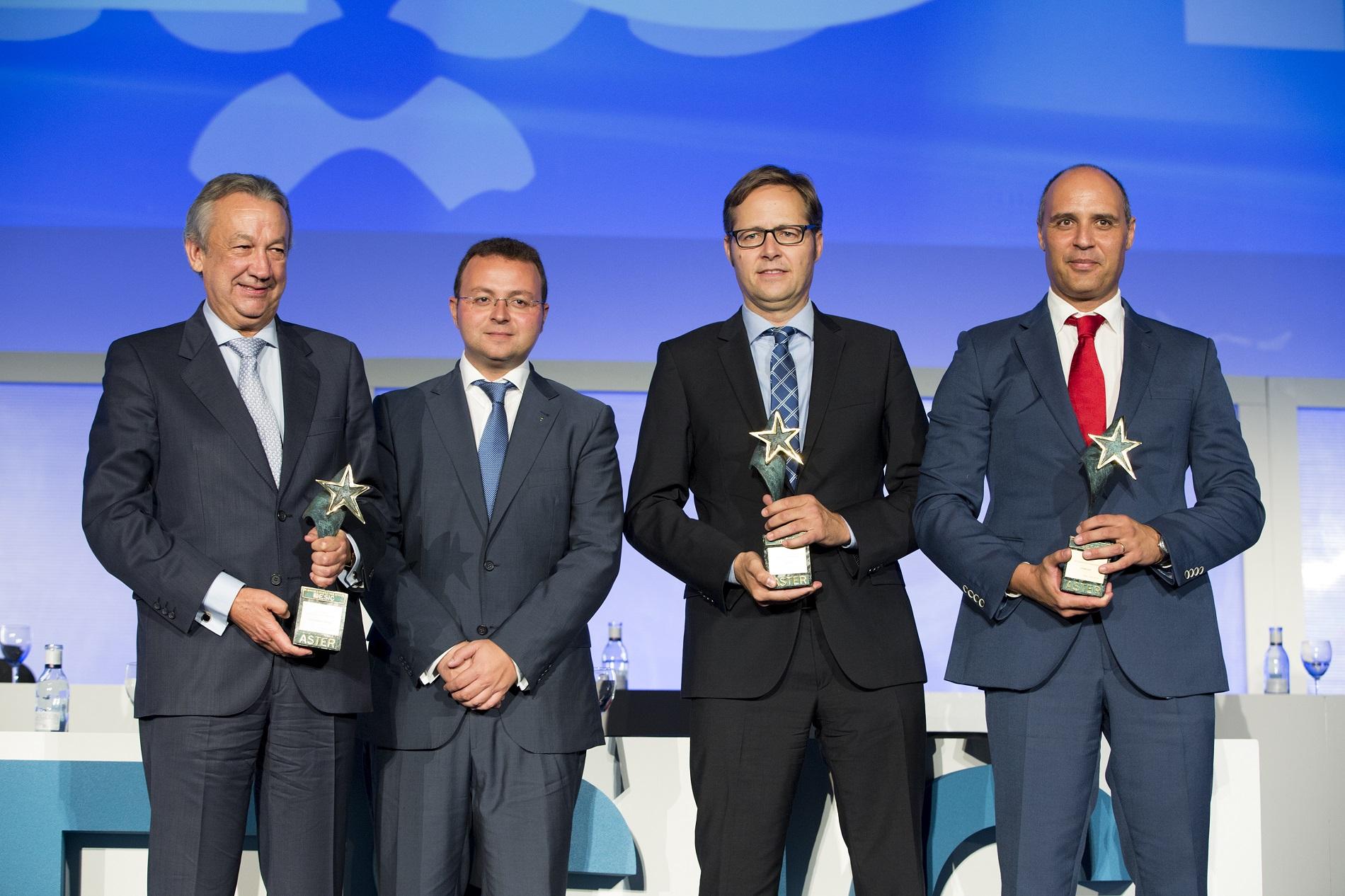 Edición de los Premios Aster Andalucía de 2016