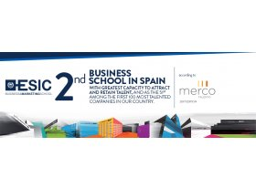 ESIC is the 2nd Business School with greatest capacity to attract and retain talent in Spain