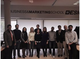 Cierre del Senior Management Program in strategic marketing en Madrid