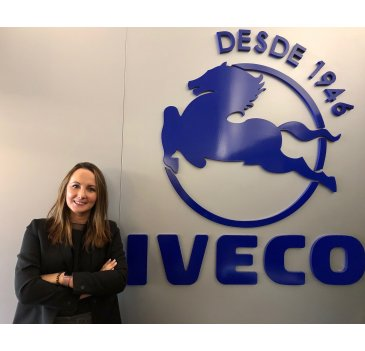 Elena Nestar, Commercial Training Manager en IVECO