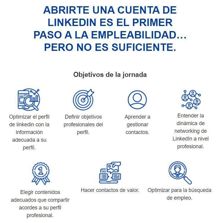 Taller Uso Profesional De Linkedin Optimiza Tu Perfil Escuela De Negocios Y Centro Universitario Esic