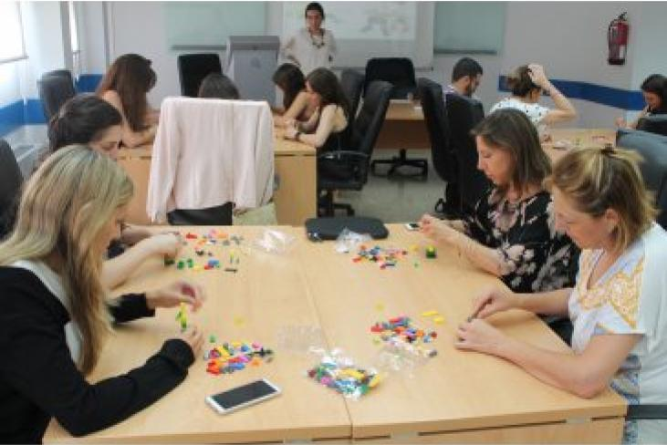 Workshop LEGO serious play en ESIC Valencia
