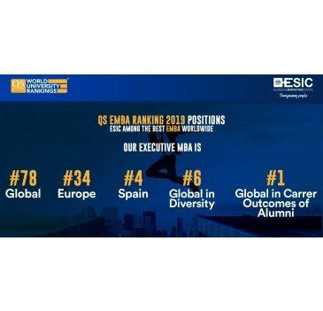 "ESIC, IE e IESE entre los mejores Executive MBA según ""QS Global EMBA Rankings 2019"""